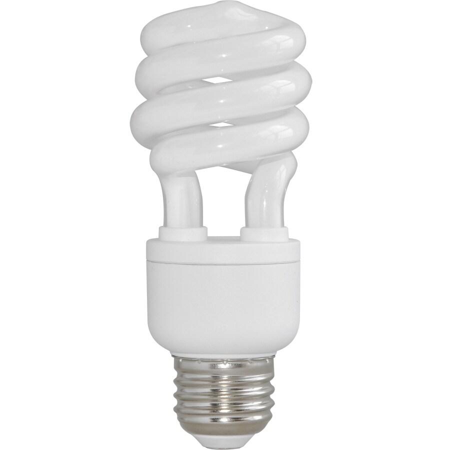 Utilitech 2-Pack 60W Equivalent Soft White CFL Decorative Light Bulbs