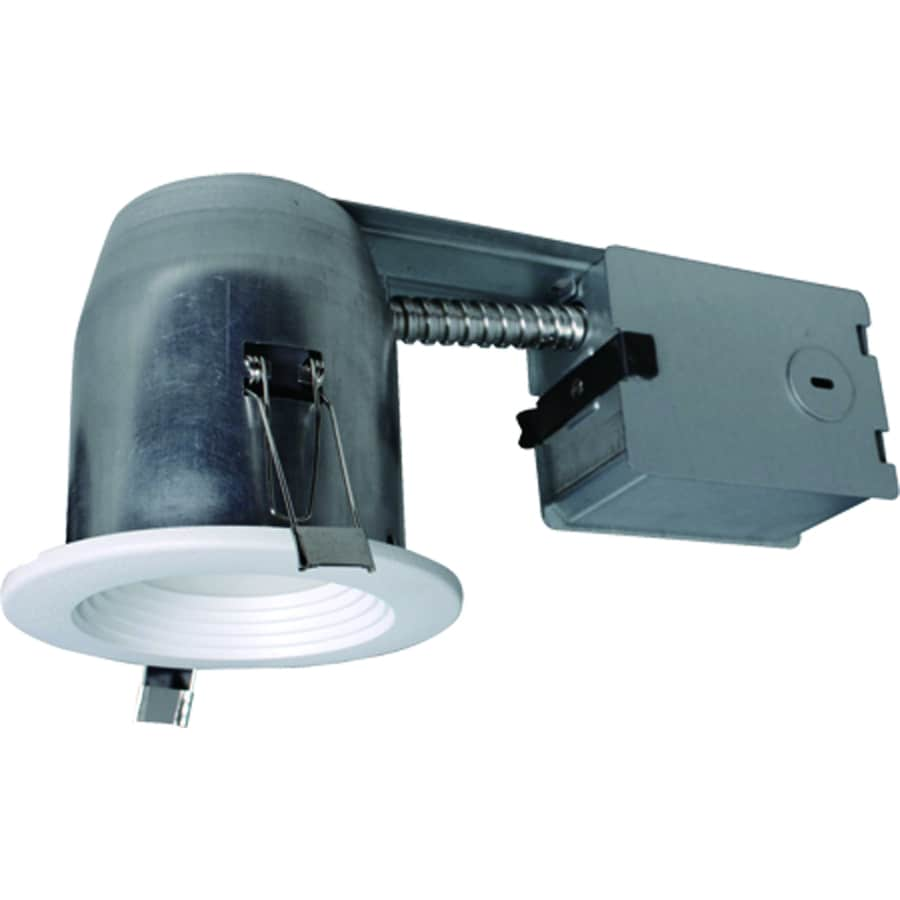 Utilitech Pro White Integrated Remodel Recessed Light Kit Fits Wiring Pot Lights In Series Opening 3