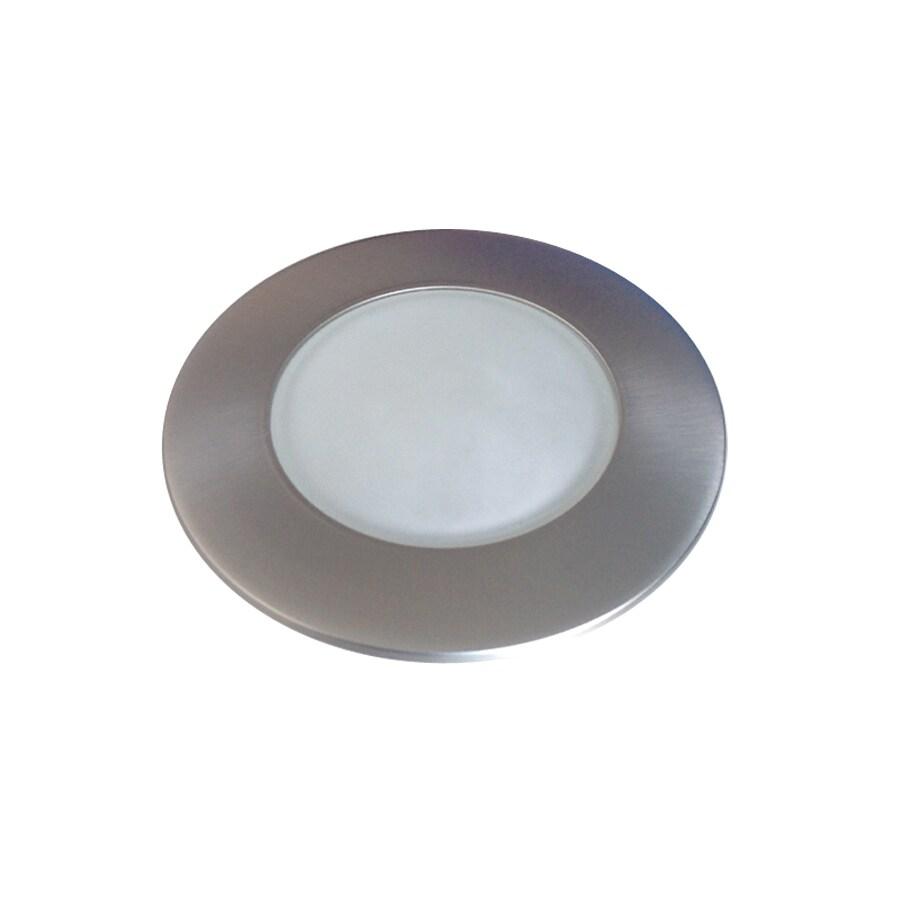 Utilitech Pro Brush Nickel Shower Recessed Light Trim (Fits Housing Diameter: 4-in)