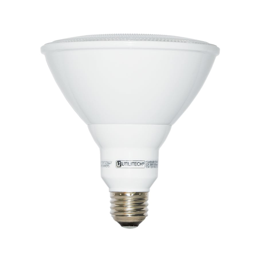 Utilitech 75 W Equivalent Warm White PAR38 LED Flood Light Bulb - Shop 10 To 20 Off LED Light Bulbs At Lowes.com