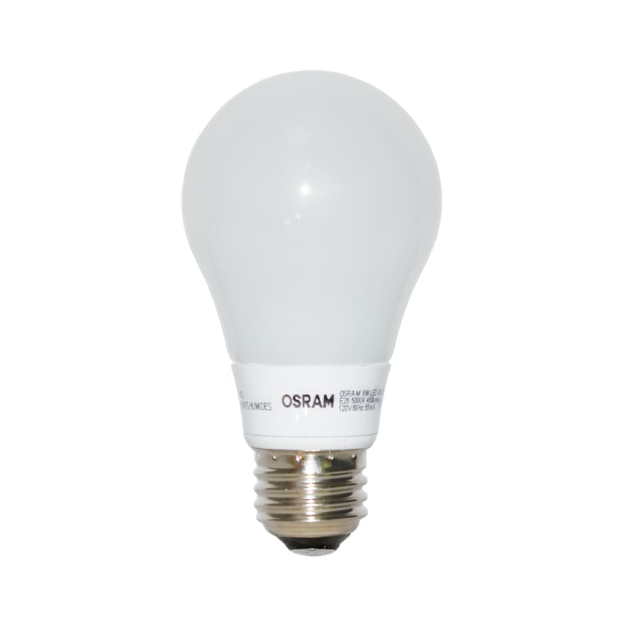 OSRAM 40W Equivalent Dimmable Soft White A19 LED Light Fixture Light Bulb