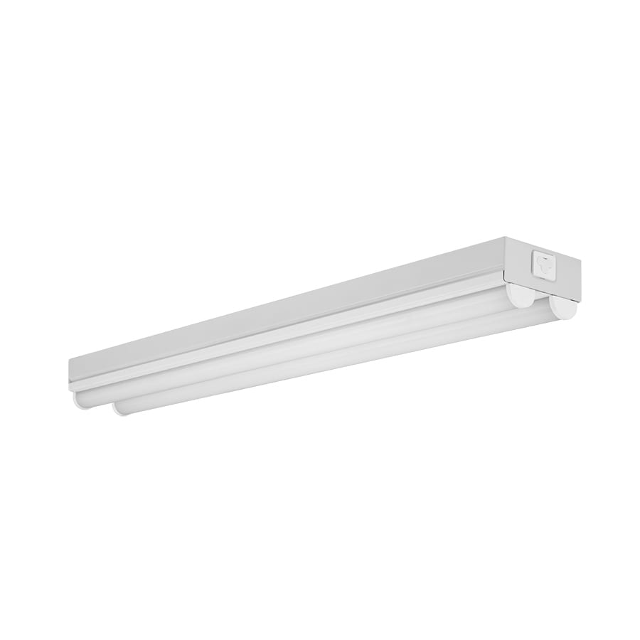 Utilitech Pro Strip Shop Light (Common: 2-ft; Actual: 3.23-in x 24.01-in)