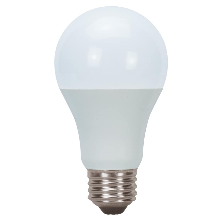 Shop Utilitech 2 Pack 60w Equivalent Warm White A19 Led Light Fixture Light Bulbs At: led bulbs