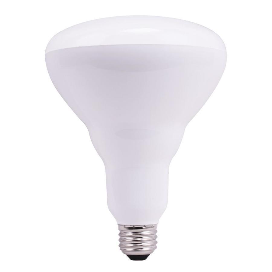 Utilitech Pro 2-Pack 85 W Equivalent Dimmable Soft White Br40 LED Flood Light Bulb