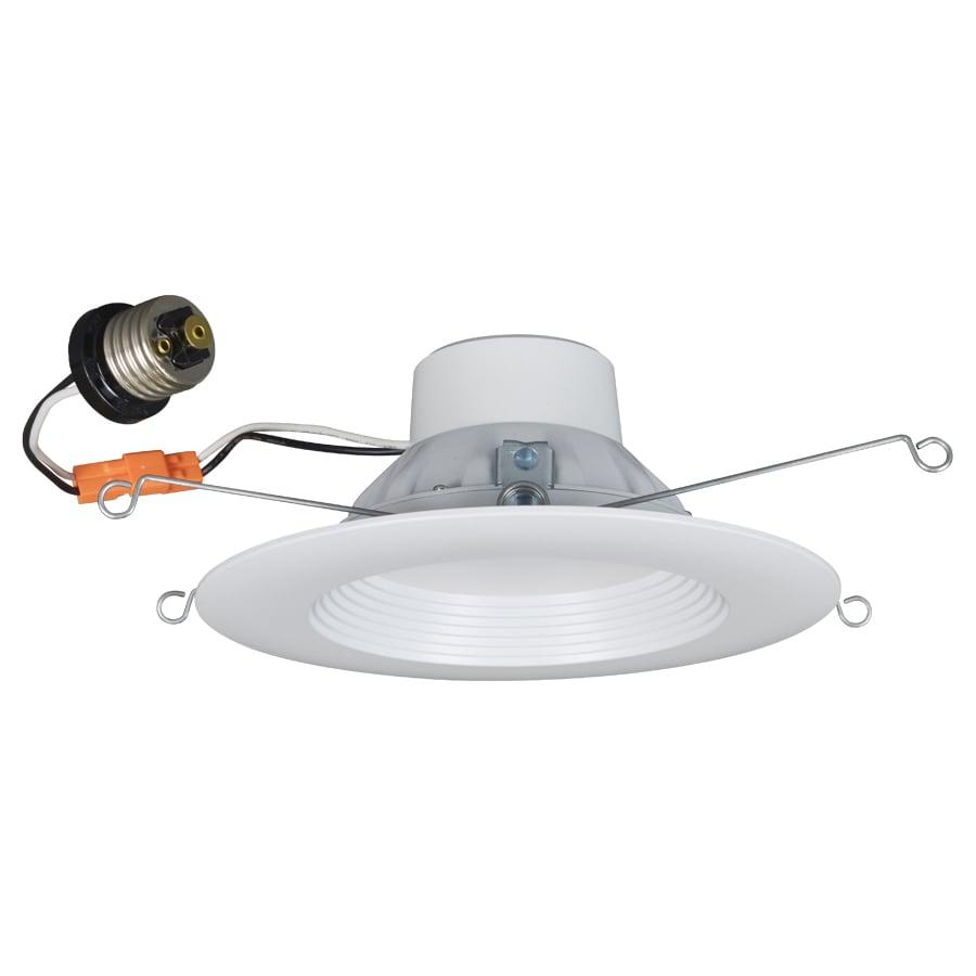 Shop Utilitech Pro 65 Watt Equivalent White Dimmable Led