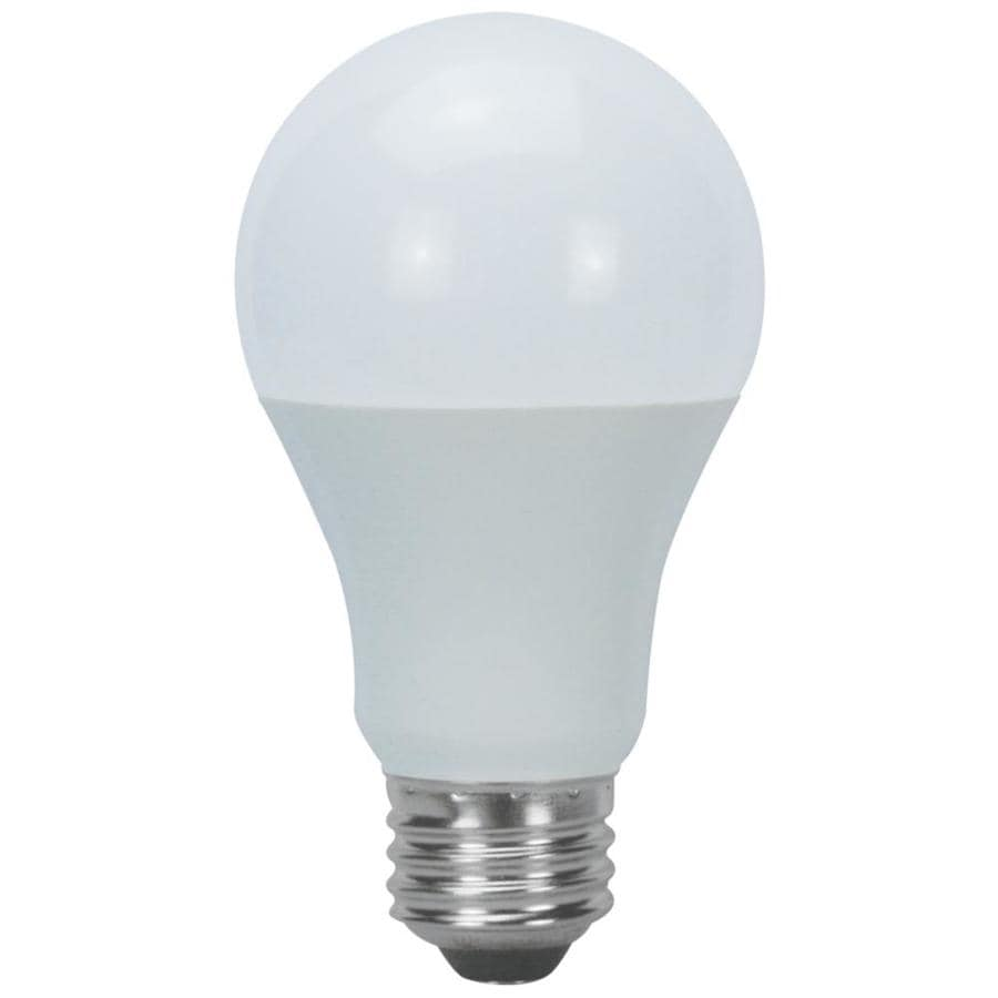 Utilitech 60 W Equivalent Daylight A19 LED Light Fixture Bulb. Shop LED Light Bulbs at Lowes com