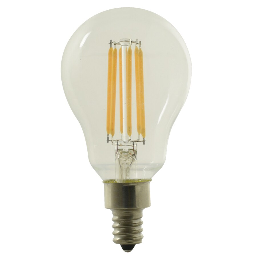 Shop Kichler 60w Equivalent Dimmable Soft White A15 Led Decorative Light Bulb At