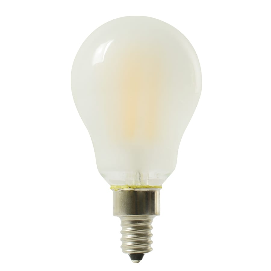 Shop kichler 40w equivalent dimmable soft white a15 led decorative light bulb at The light bulb store