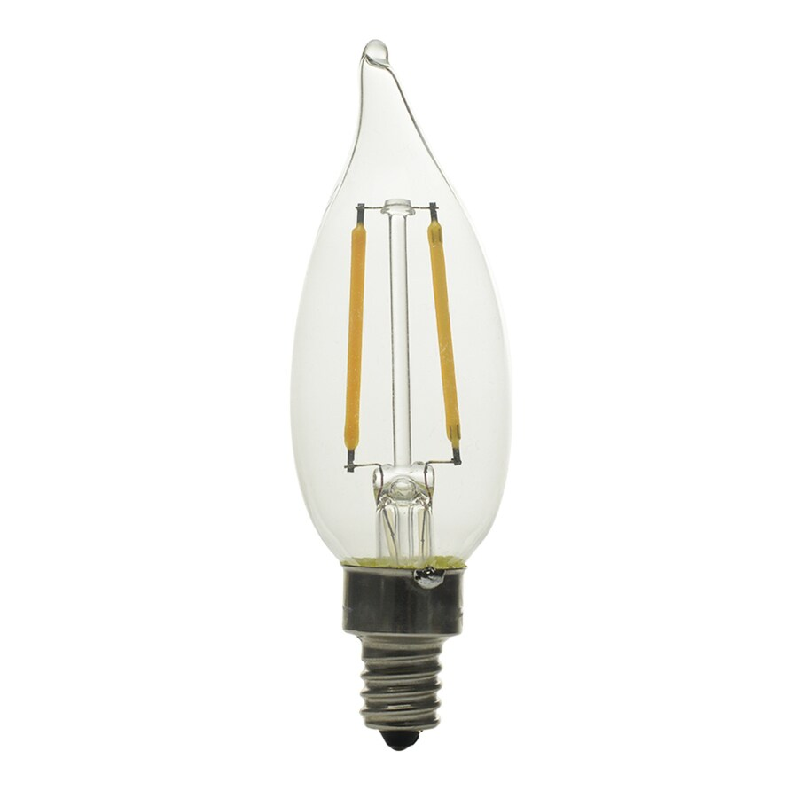 Kichler 25W Equivalent Dimmable Soft White B10 LED Decorative Light Bulb