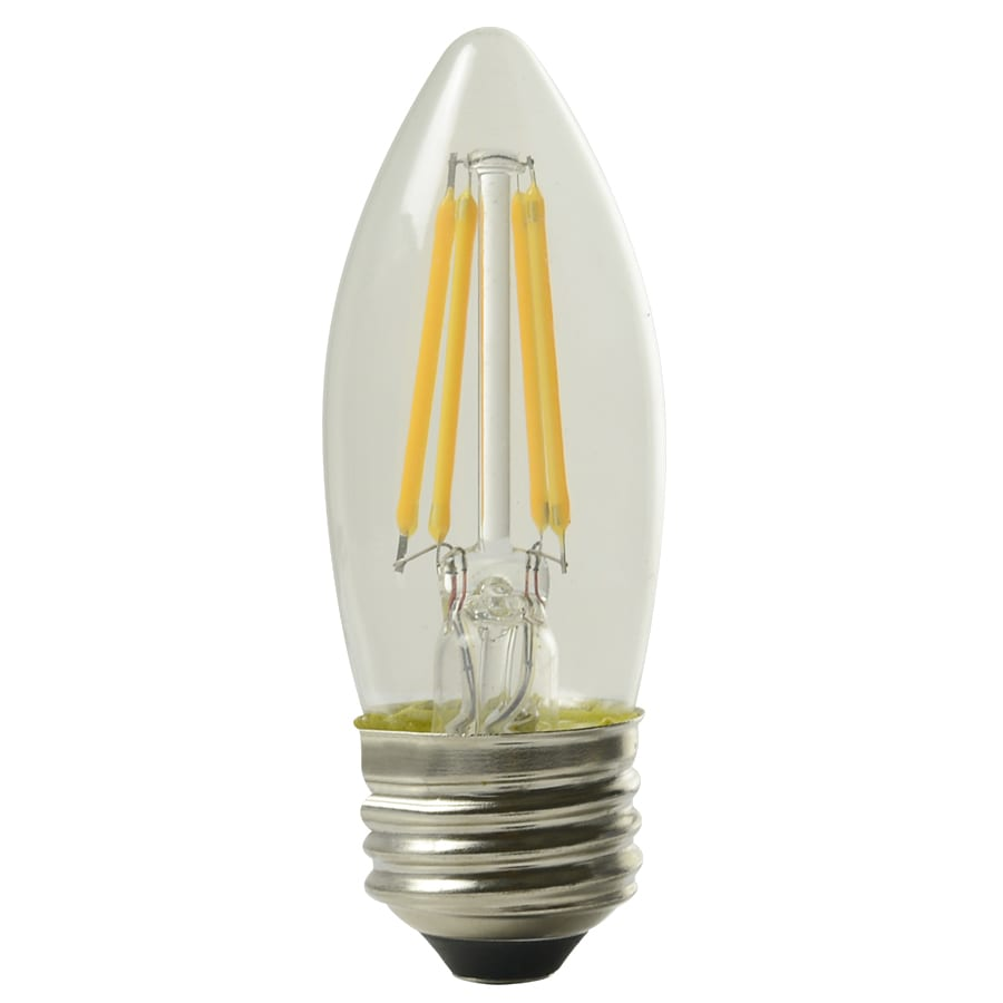 Kichler 40W Equivalent Dimmable Soft White B10 LED Decorative Light Bulb