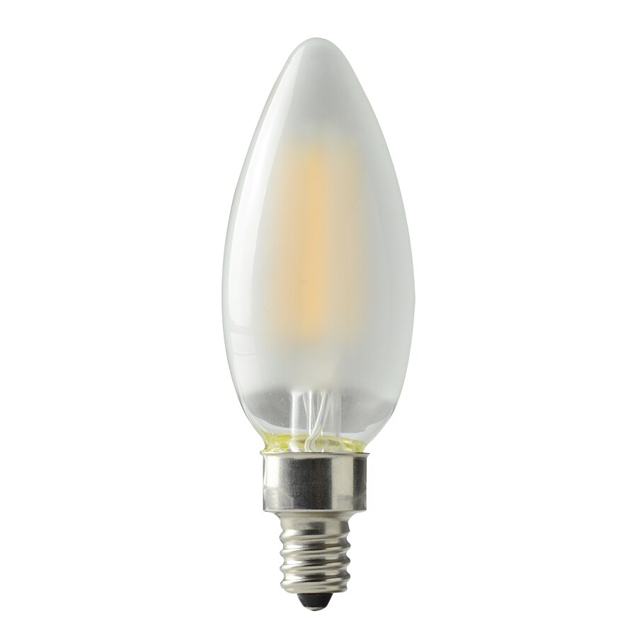 Westinghouse 40w Equivalent Amber St20 Dimmable Filament: Shop Kichler 40W Equivalent Dimmable Soft White B10 LED