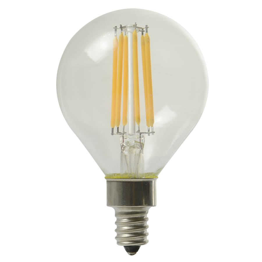 Shop Kichler 60w Equivalent Dimmable Soft White G16 5 Led Decorative Light Bulb At
