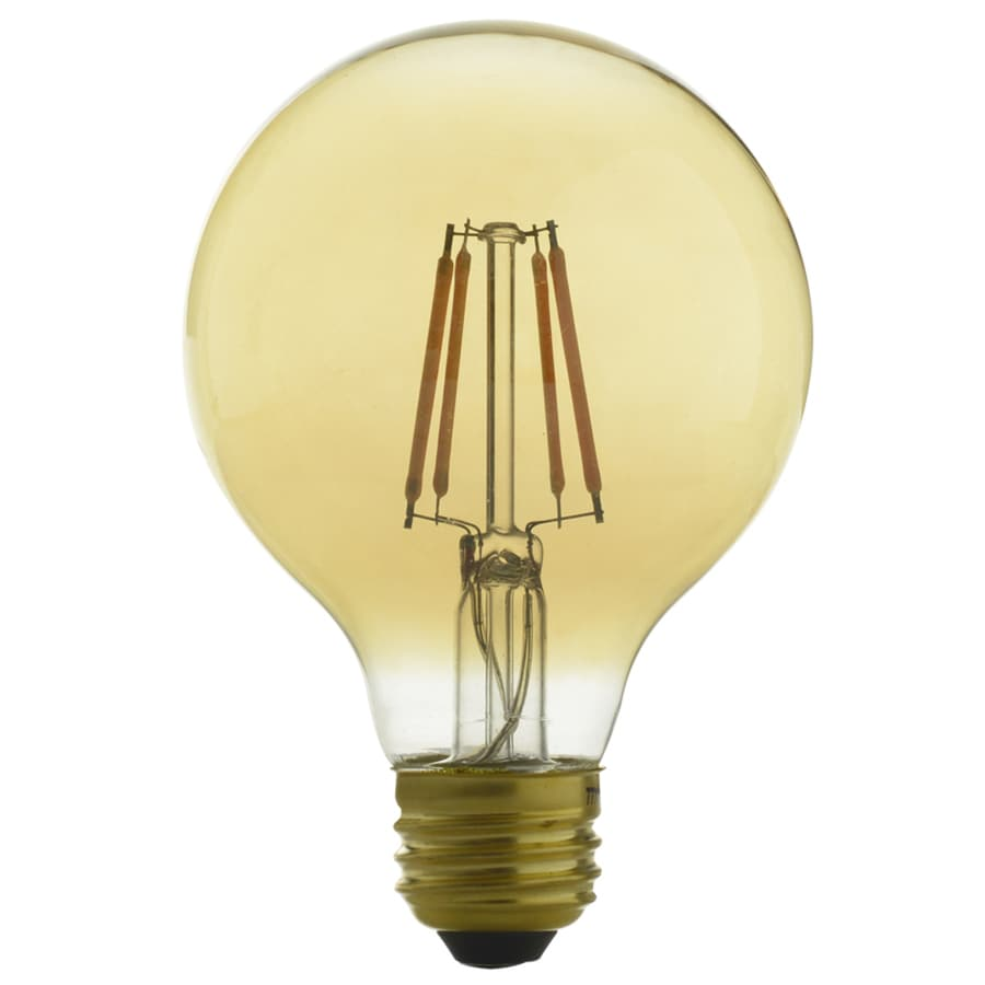 Kichler Lighting 60 W Equivalent Dimmable Amber G25 Vintage LED Decorative Light Bulb