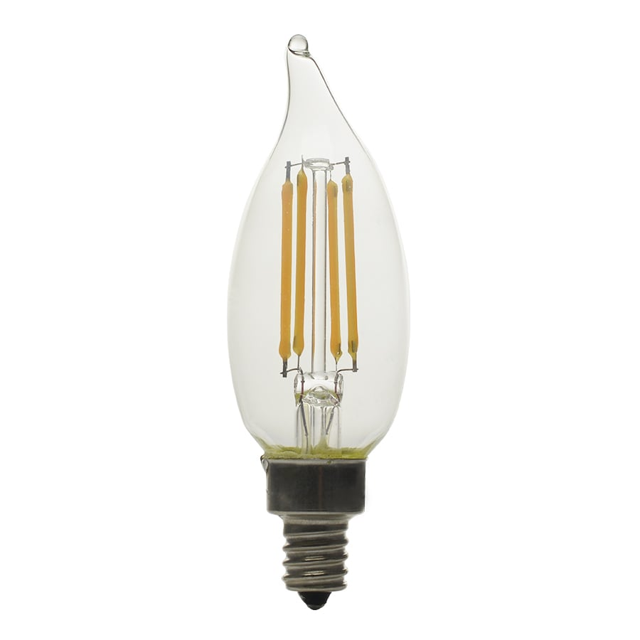 Shop Kichler 40w Equivalent Dimmable Soft White B10 Led Decorative Light Bulb At