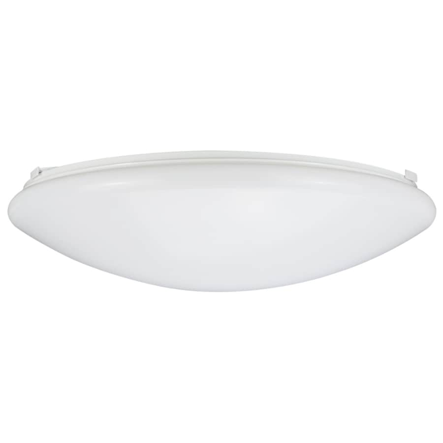pl lowes lights at fans shop w in lighting com led flush mount portfolio light black ceiling
