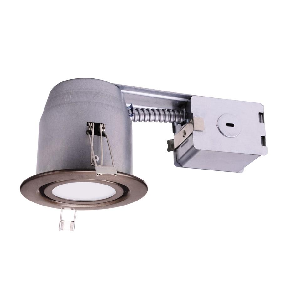 Recessed Lighting Utilitech : Utilitech watt equivalent bronze dimmable led