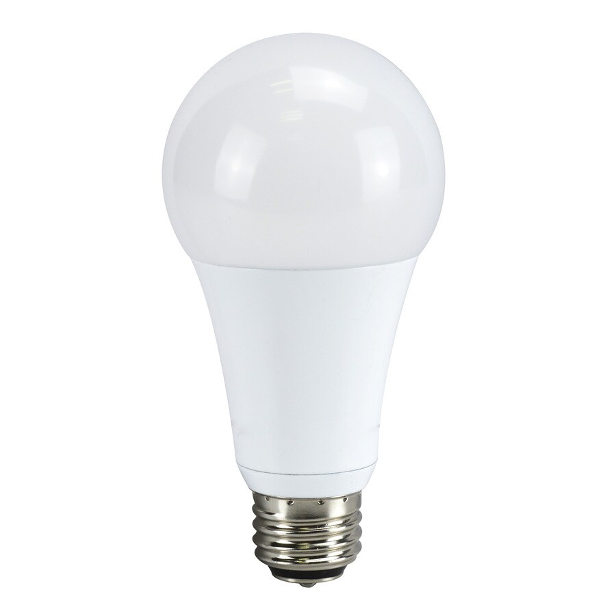 Utilitech 100 W Equivalent Soft White 3-Way Bulb A21 LED Light Fixture Light Bulb