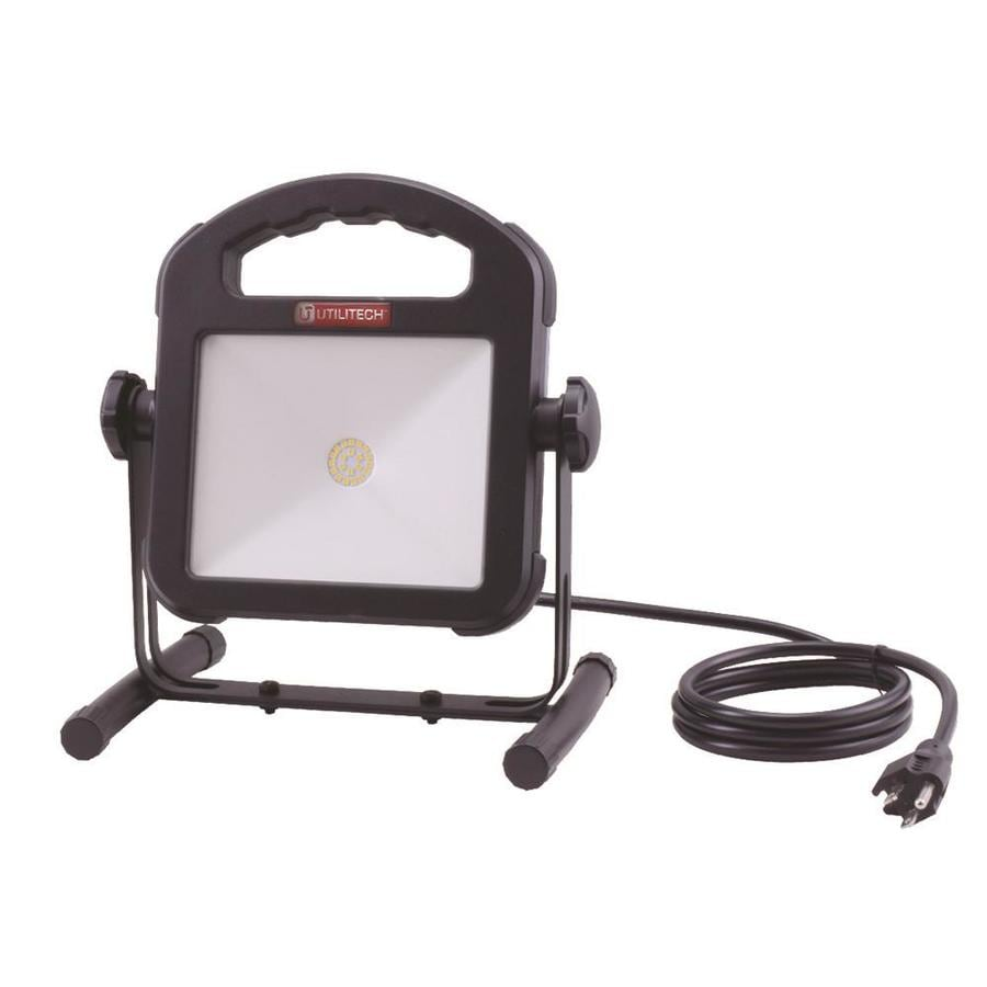 shop utilitech 1500 lumen led portable work light at. Black Bedroom Furniture Sets. Home Design Ideas