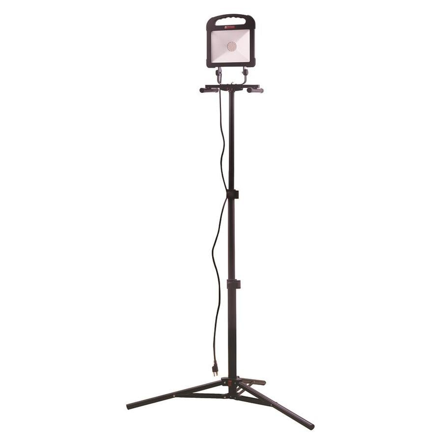 Utilitech 3000-Lumen LED Stand Work Light At Lowes.com