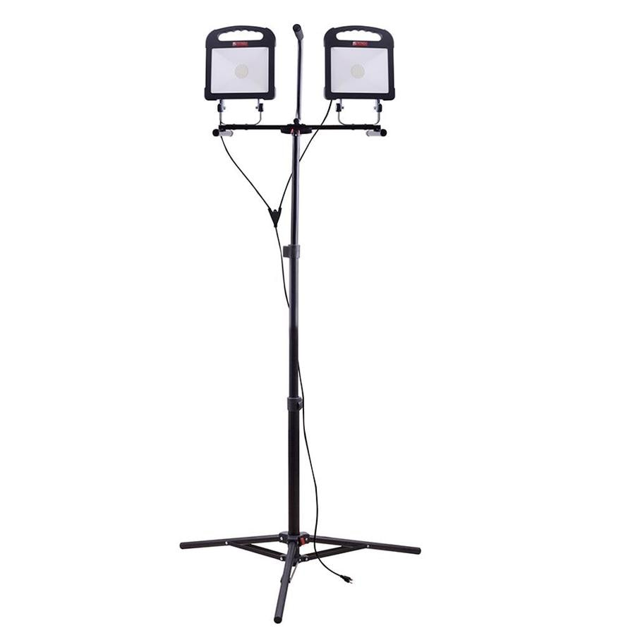 Utilitech Pro 6000 Lumen Led Stand Work Light