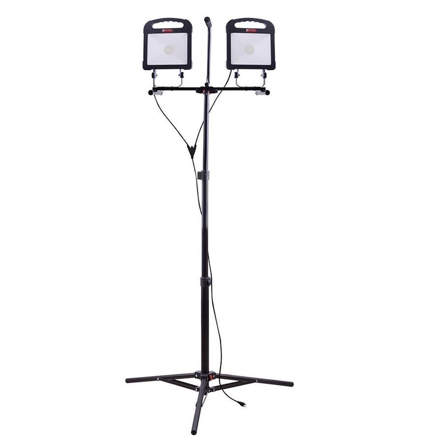 Utilitech Pro 6000-Lumen LED Stand Work Light At Lowes.com