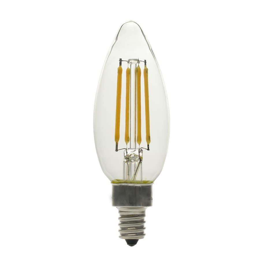 Utilitech Led Garage Lights: Utilitech 60-Watt EQ Soft White Dimmable Light Bulbs (6