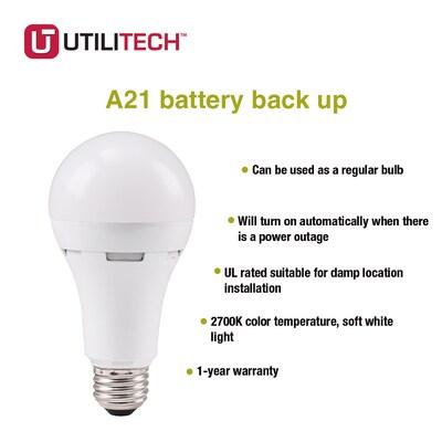 60 Watt Eq 5 2 In Warm White Appliance Light Bulb 3 Pack