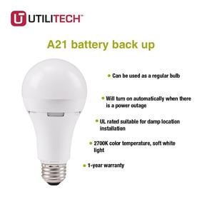 Utilitech Light Bulbs At Lowes Com