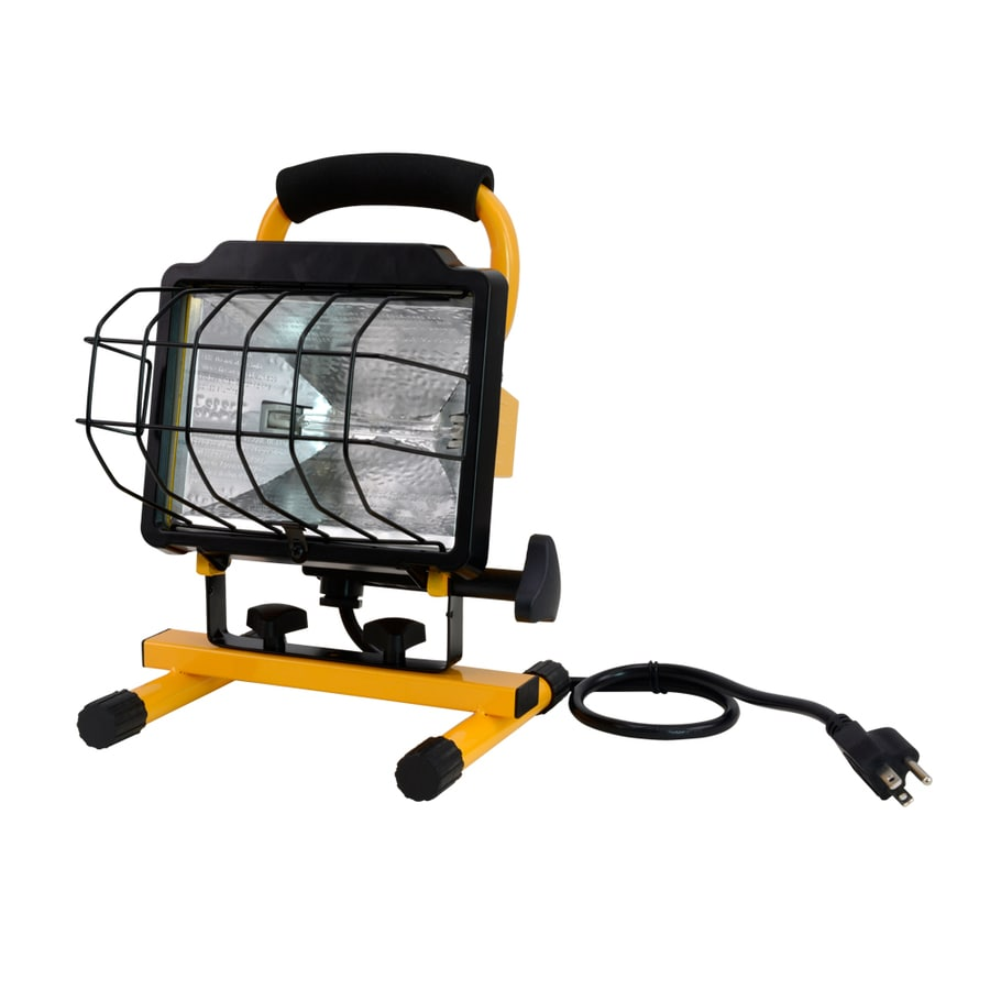Craftsman 500 Watt Halogen Worklight: Utilitech 500-Watt Halogen Stand Work Light At