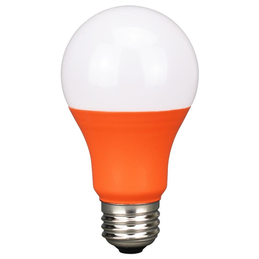 Mr16 Led Orange: Energetic LED A19 Color Bulb- Orange At Lowes.com