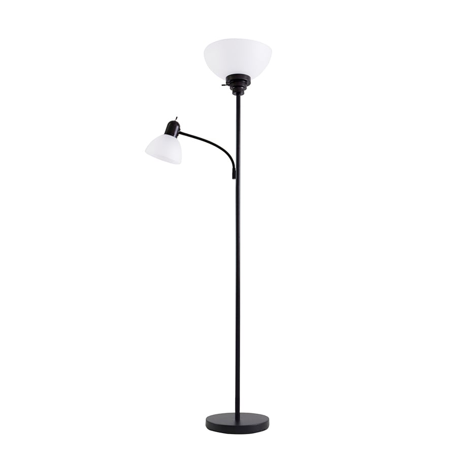 With Reading Light Floor Lamp