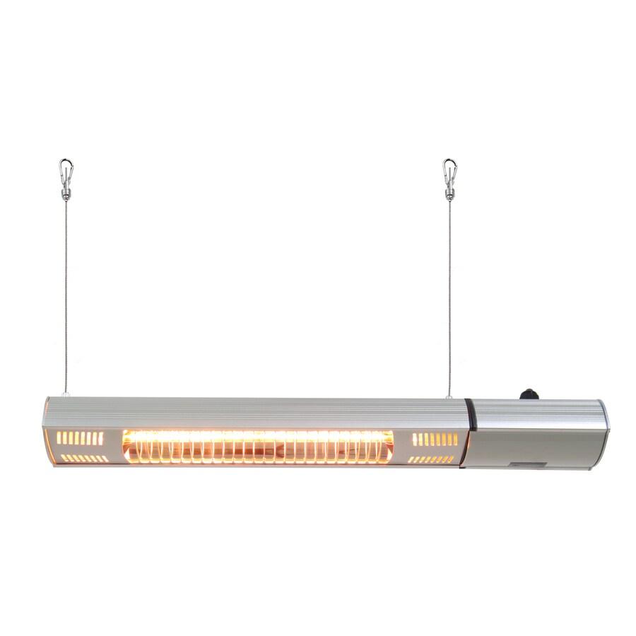 EnerG+ 5100 BTU 110 Volt Silver Aluminum Electric Patio Heater