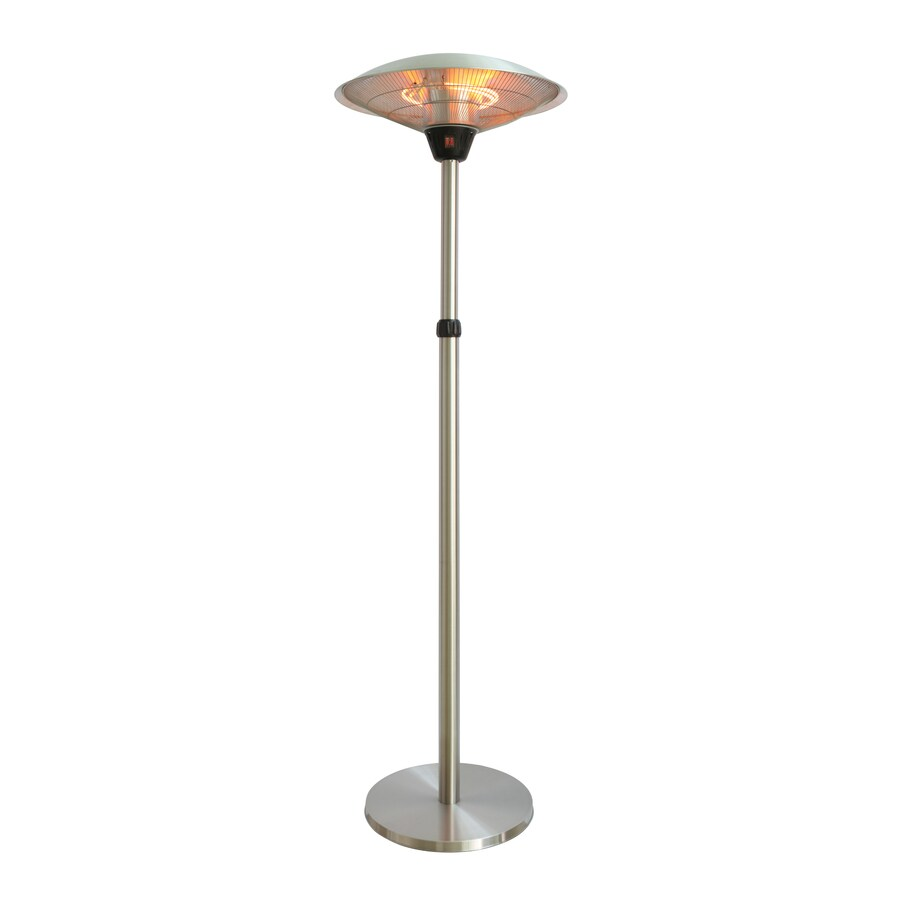 EnerG+ 5100-BTU 110-Volt Silver Aluminum Electric Patio Heater