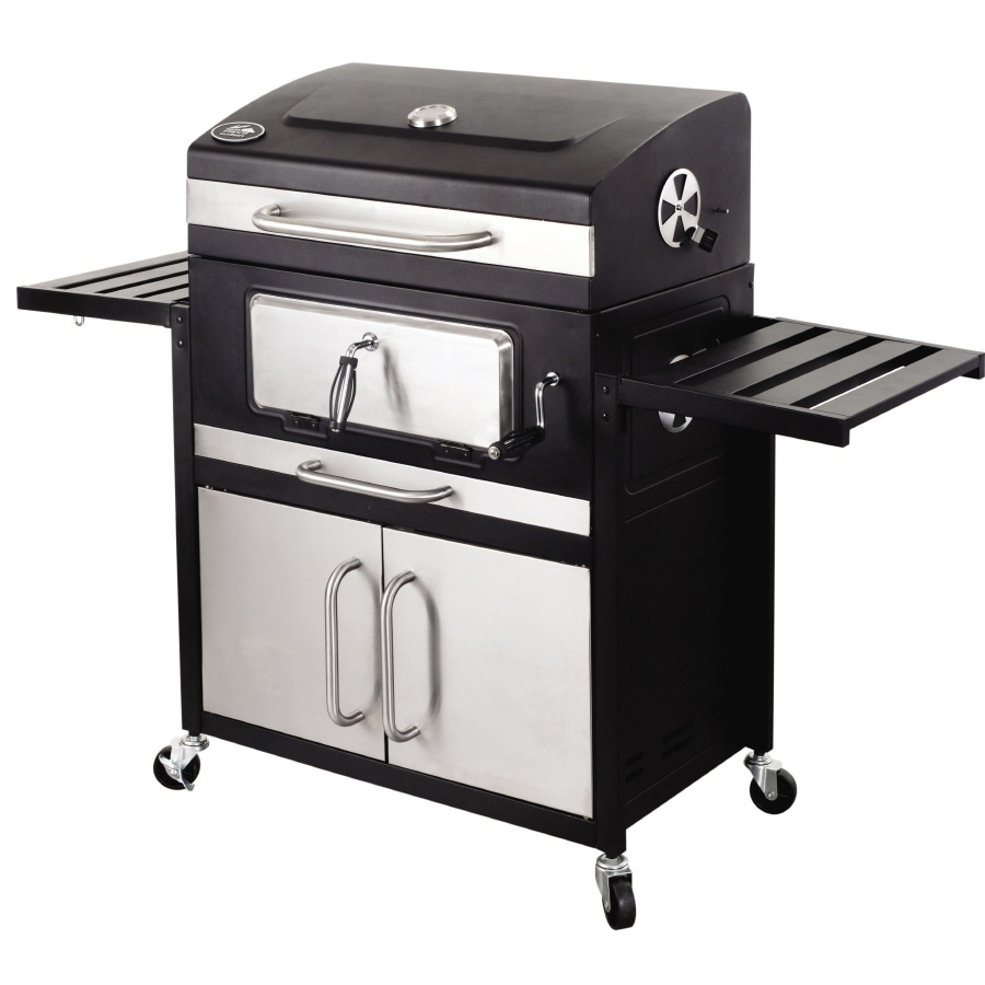 Lowe S Electric Grills Outdoor ~ Shop north american outdoors charcoal grill at lowes