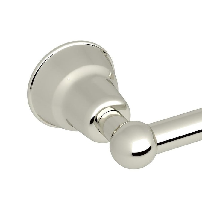 Rohl Country Bath Polished Nickel Wall Mount Spring-Loaded ...