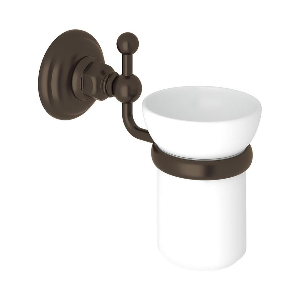 shop rohl a1488tcb italian bath wall mounted single tumbler holder