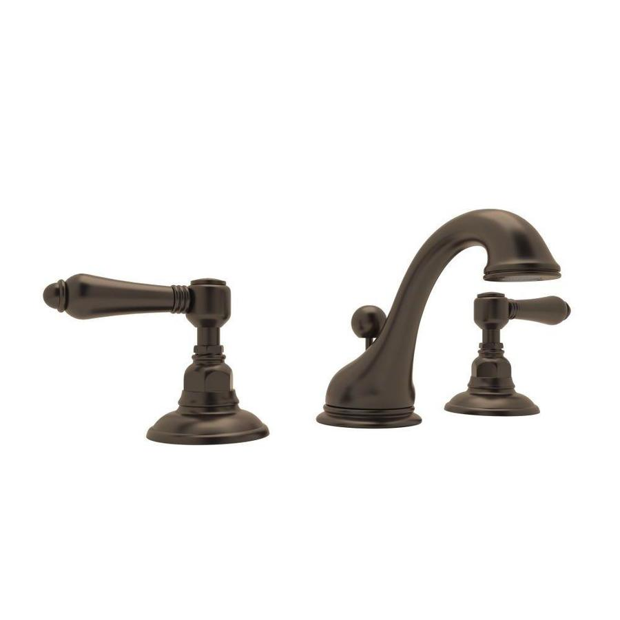 Tuscan Bathroom Faucets: Rohl Country Bath Tuscan Brass 2-Handle Widespread