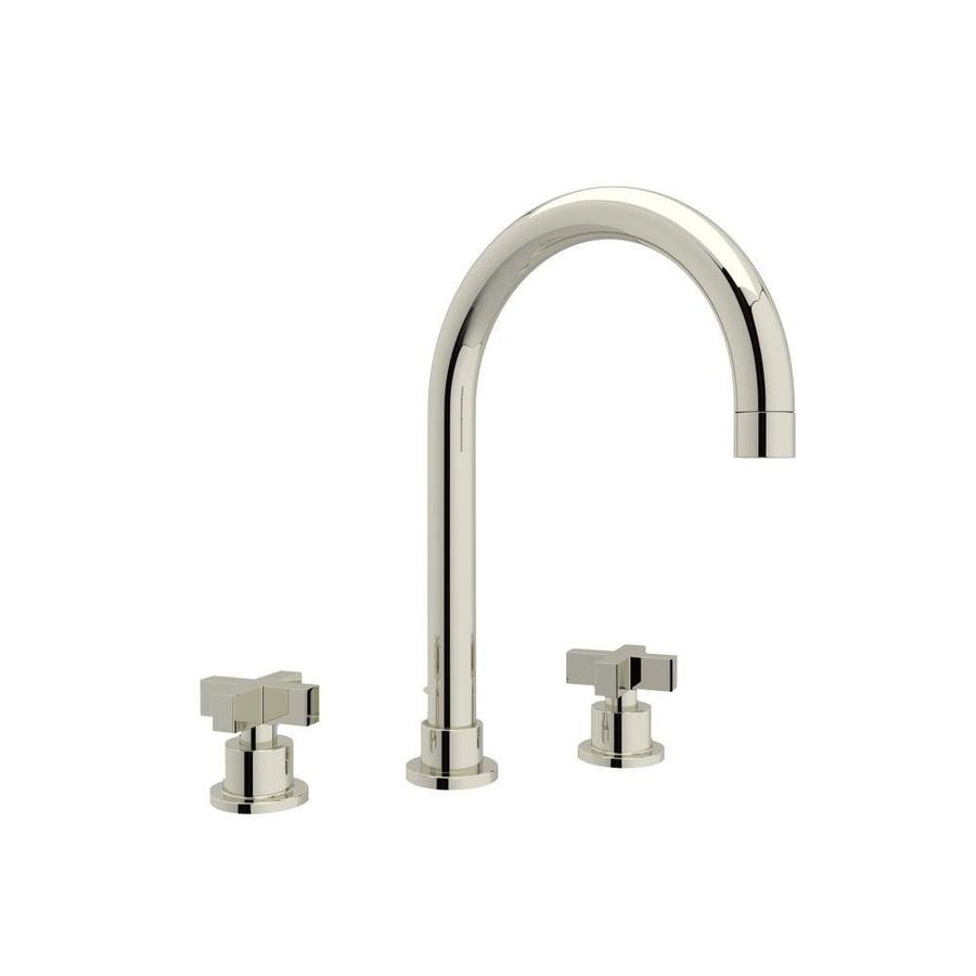 Shop Rohl Modern Polished Nickel 2-Handle Widespread Bathroom Sink ...