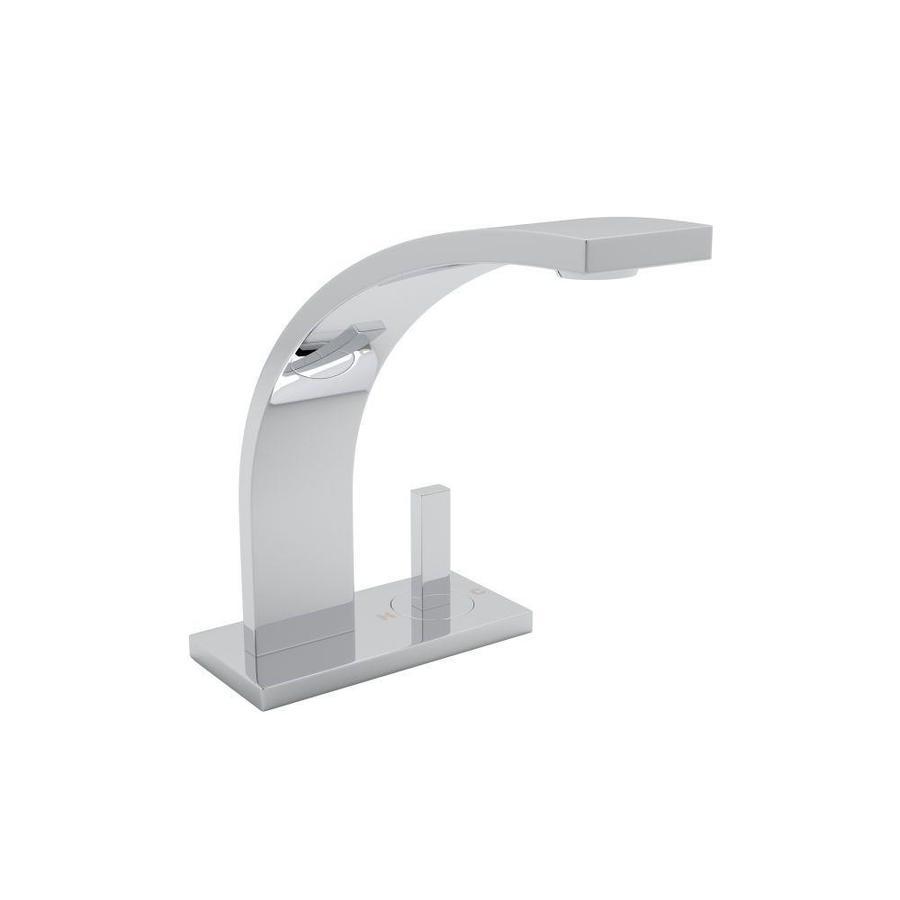 Shop Rohl Modern Polished Chrome 1-Handle 2-hole Bathroom Sink ...