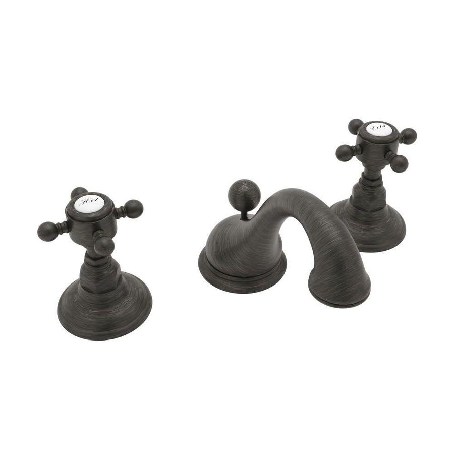 Shop Rohl Country Bath Old Iron 2-Handle Widespread Bathroom Sink ...