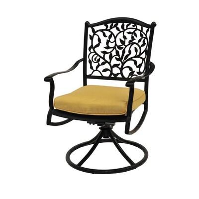 Fantastic Garden Treasures Roslyn Swivel Rocker Patio Chairs Set Of 2 Gamerscity Chair Design For Home Gamerscityorg