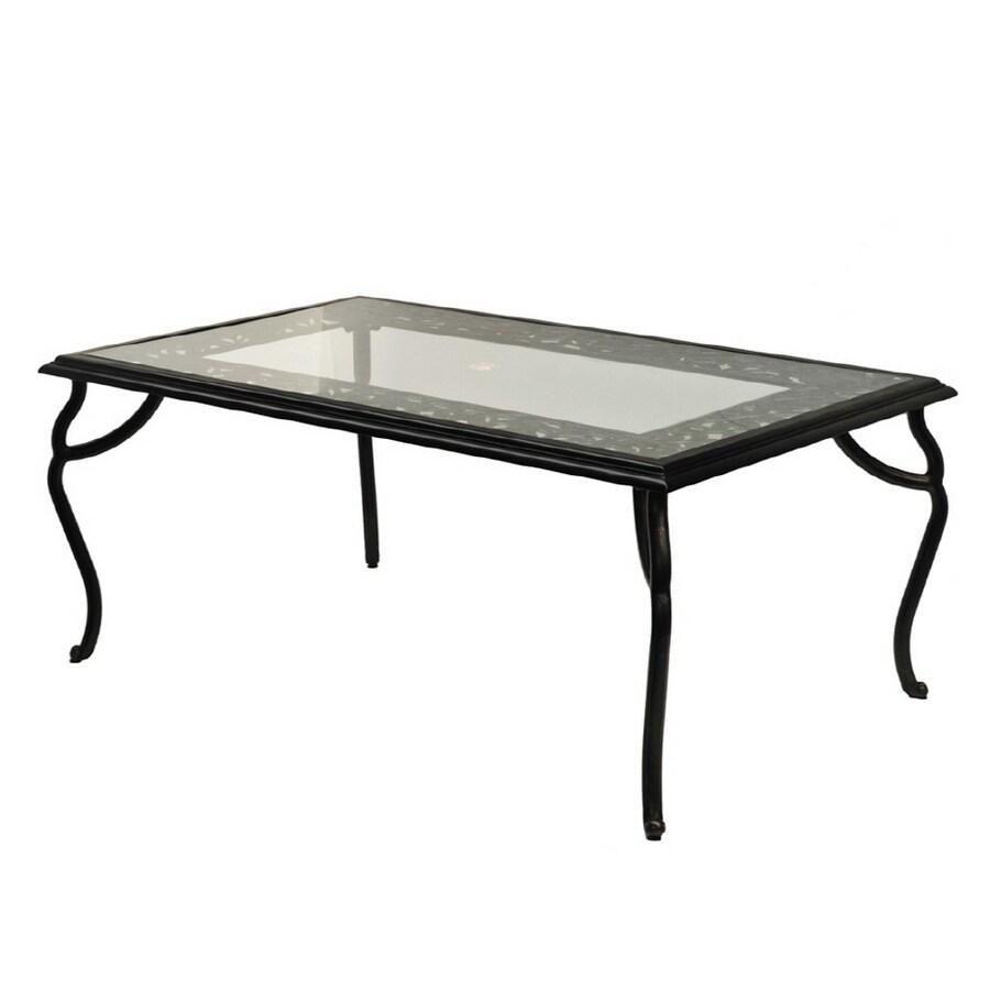 Fine Rectangular Glass Patio Table - Patio Design #378