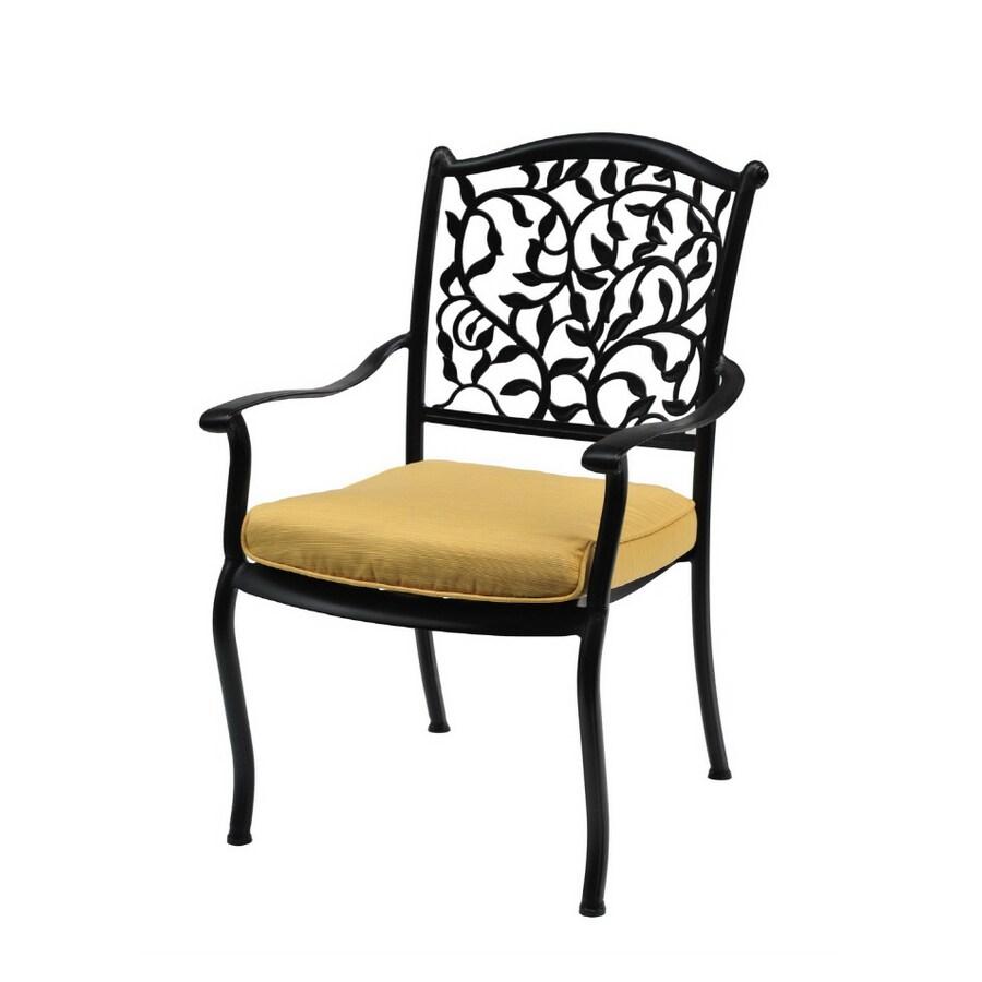 Garden Treasures Roslyn Dining Patio Chairs, Set Of 2