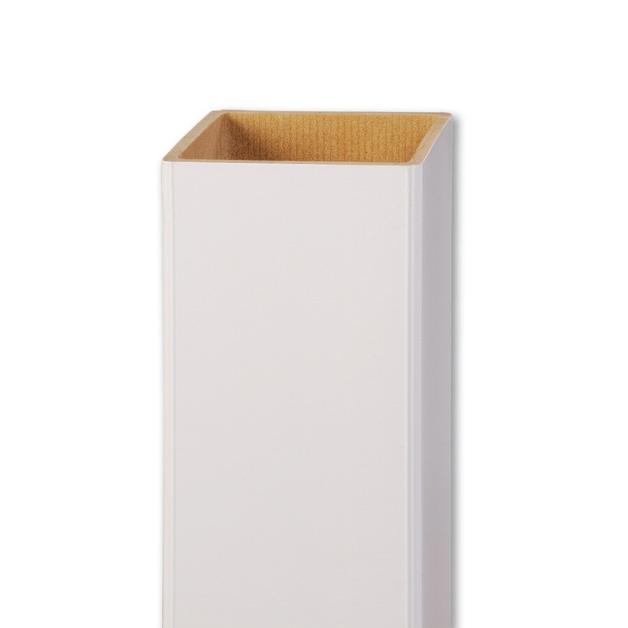 AZEK White Composite Deck Post Sleeve (Common: 5-in; Actual: 5-in x 39-in)