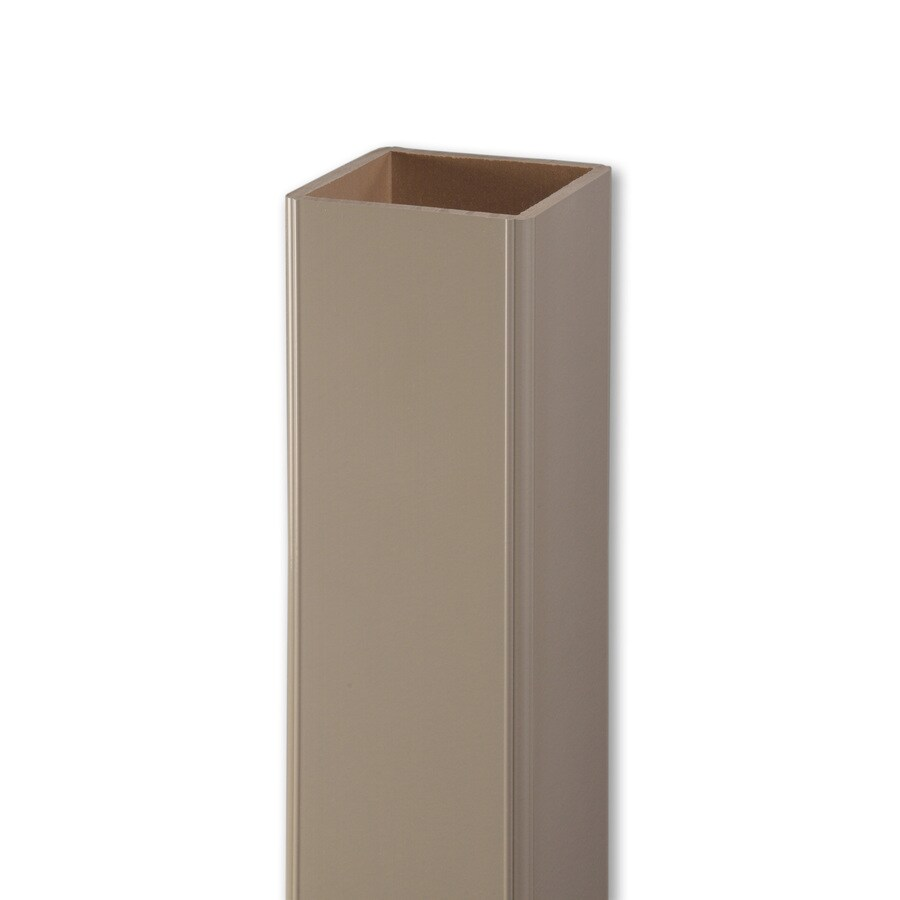 AZEK 5-in x 5-in x 39-in Clay Composite Deck Post Sleeve