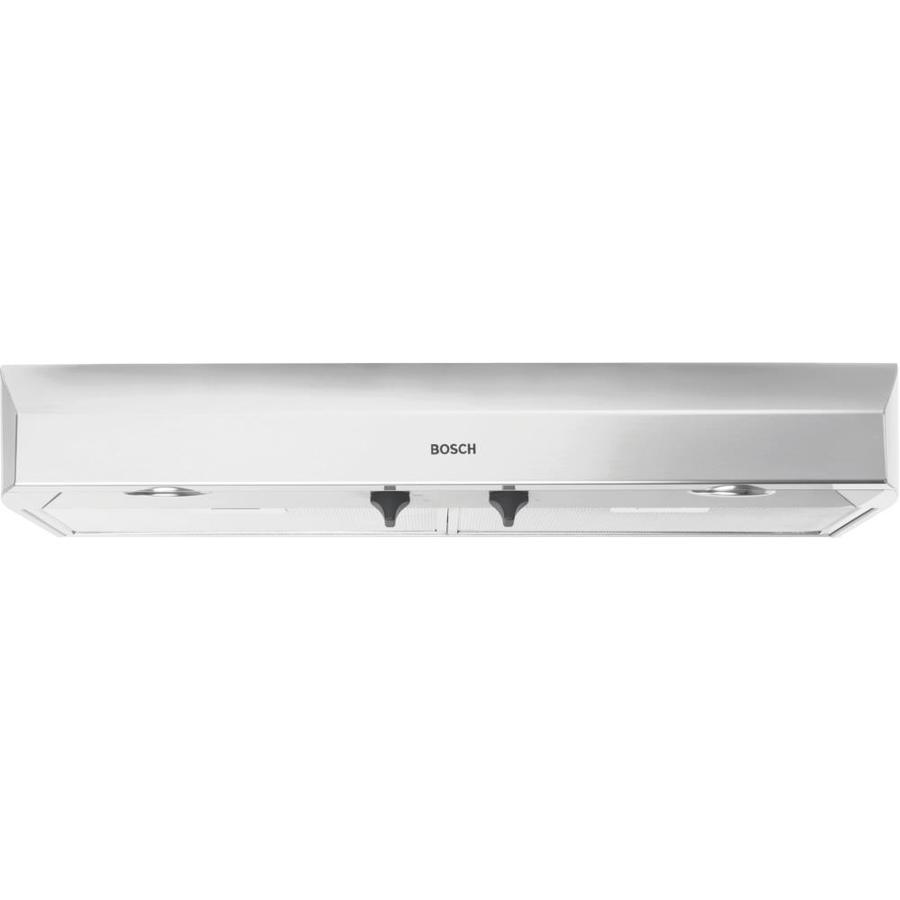 Bosch undercabinet range hood stainless steel common 36 in actual