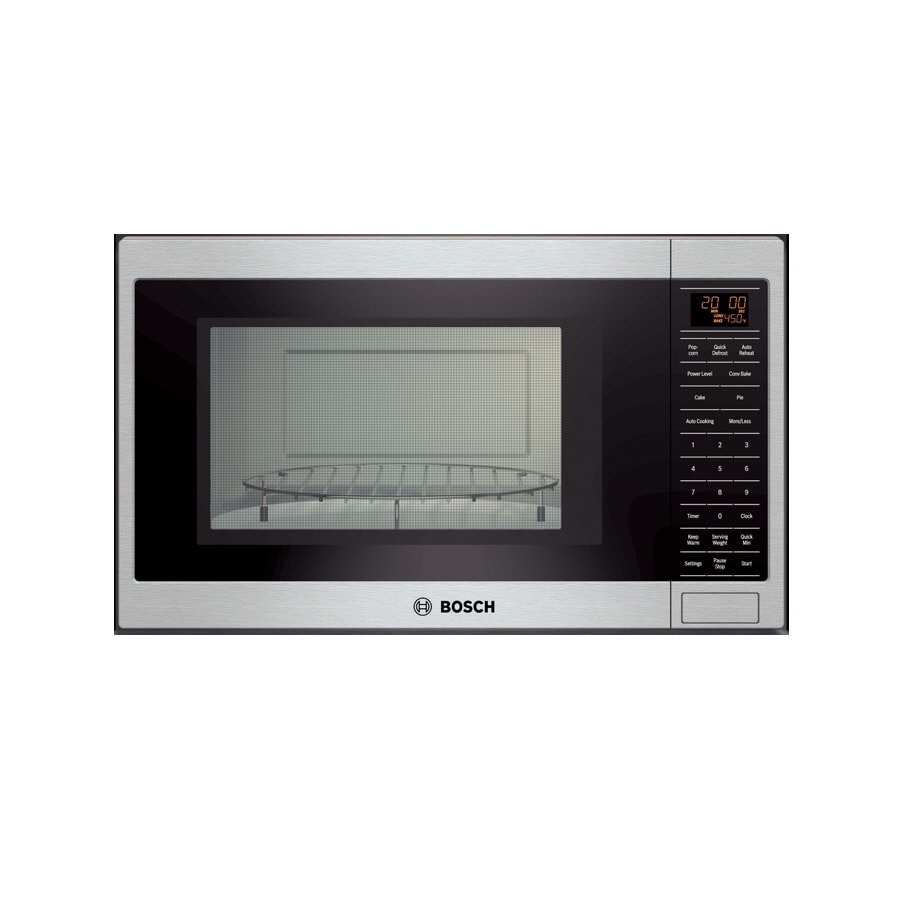 Bosch 1.5-cu ft Built-In Convection Microwave with Sensor Cooking Controls (Stainless)