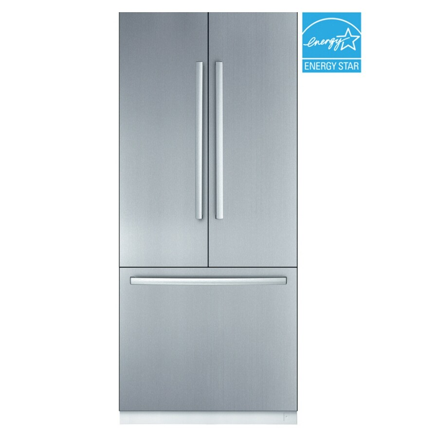 Beau Bosch 36 Inch French Door Built In Refrigerator (Color: Stainless Steel)