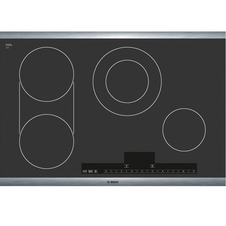 Bosch Smooth Surface Electric Cooktop (Black) (Common: 30-in; Actual 31-in)