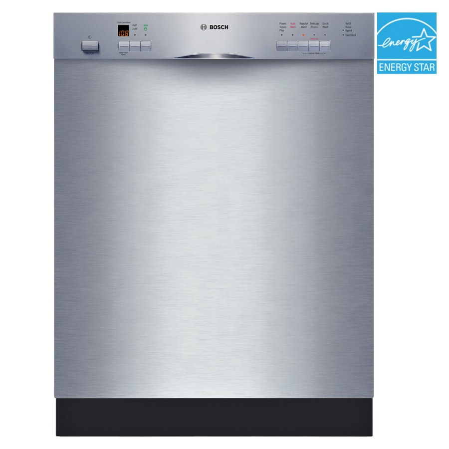 Bosch 500 Series 24-in Built-In Dishwasher (Stainless) ENERGY STAR